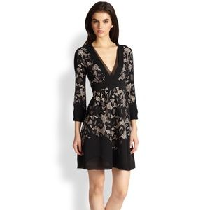 Diane von Furstenberg Fern Floral Lace Dress